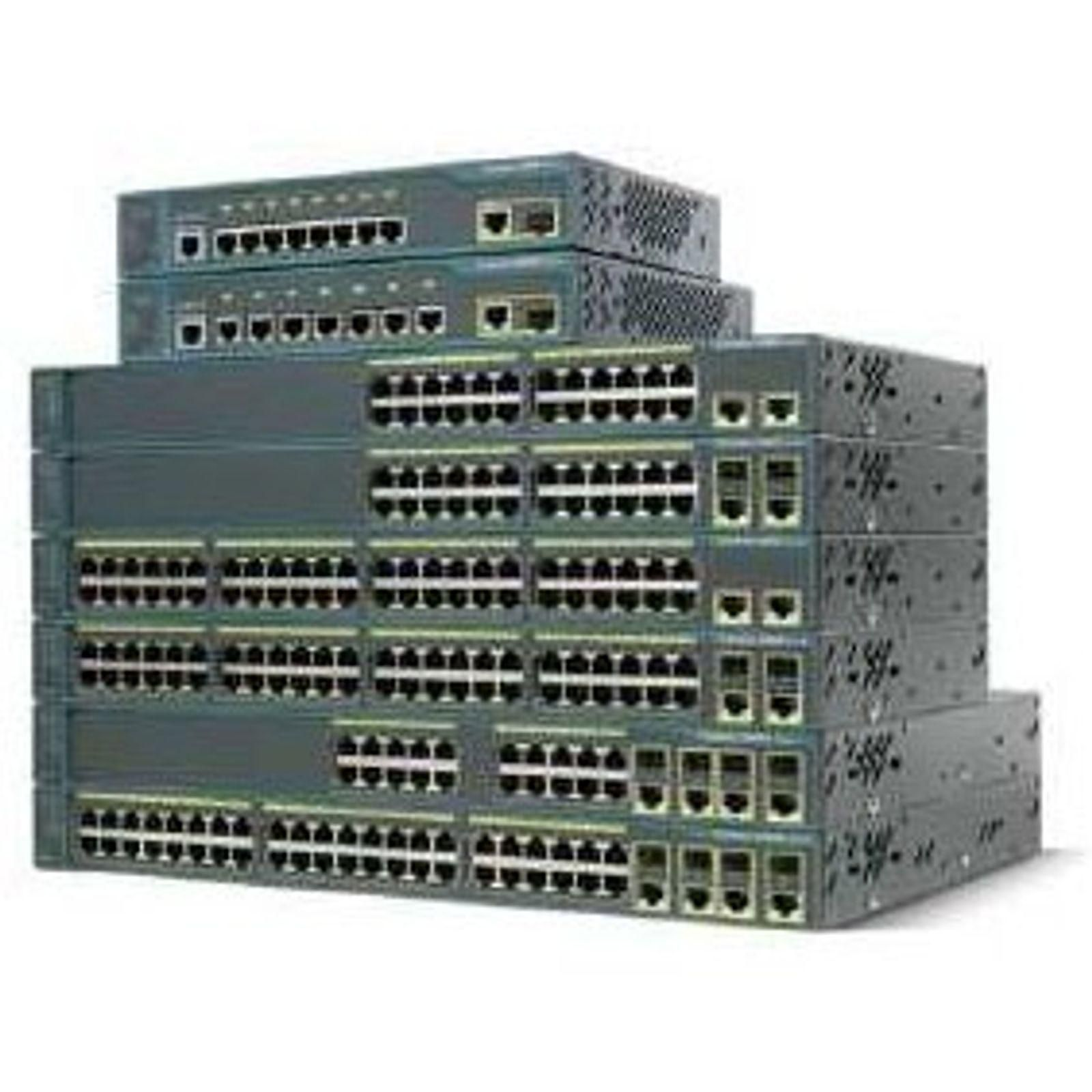Cisco Catalyst 2960 PLUS 24 10/100 POE 2T/SFP Lan Base - WS-C2960+24PC-S